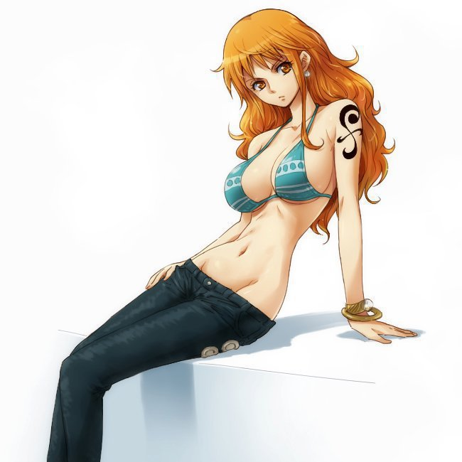 One Piece Nami Seksi