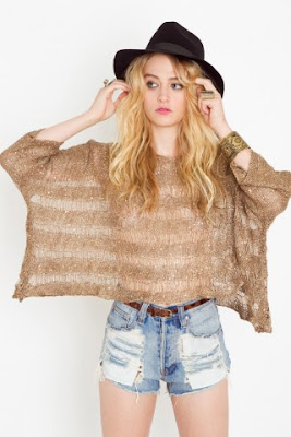 Shredded Sequin Knit