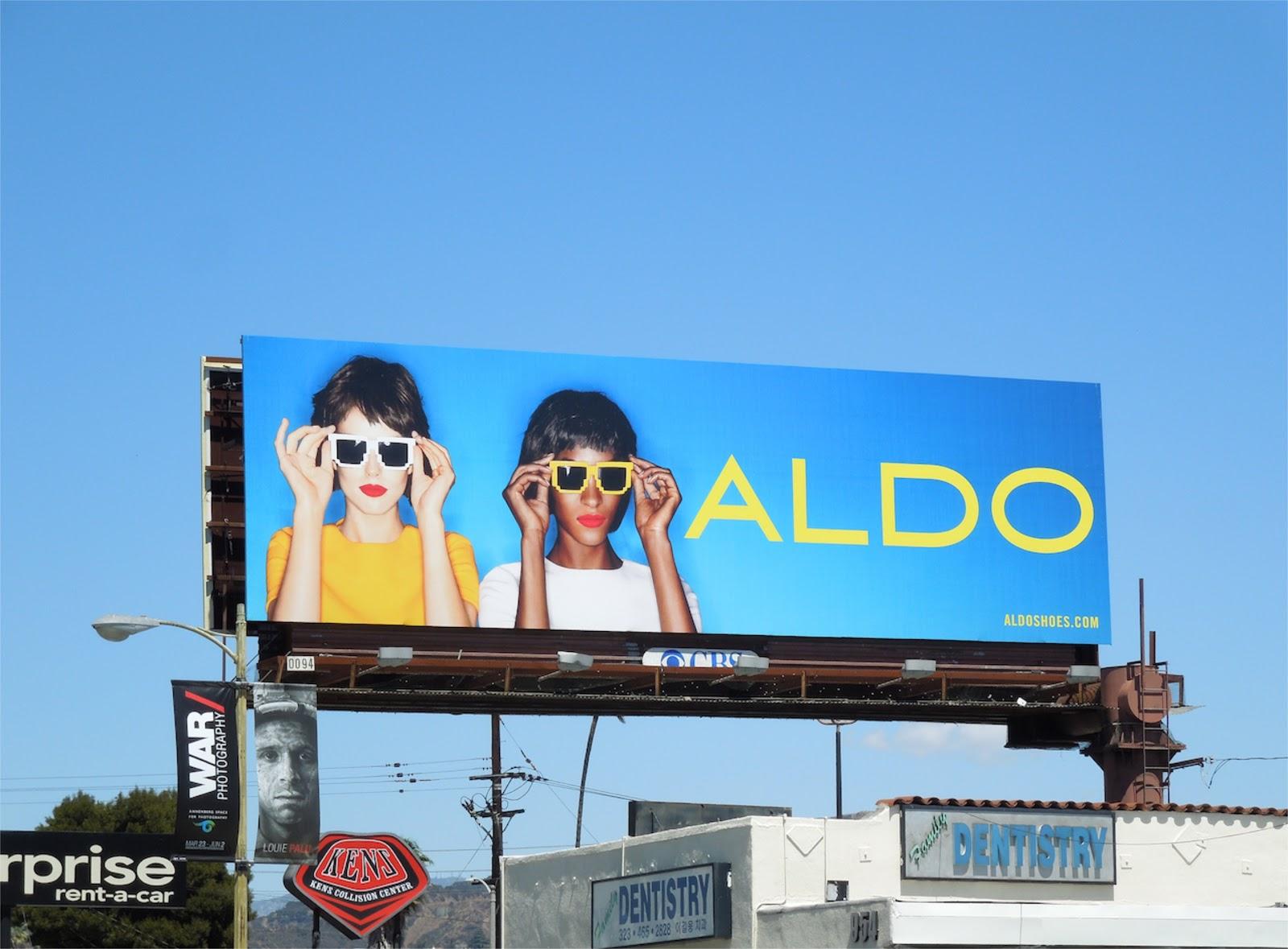 Aldo Sunglasses Billboard