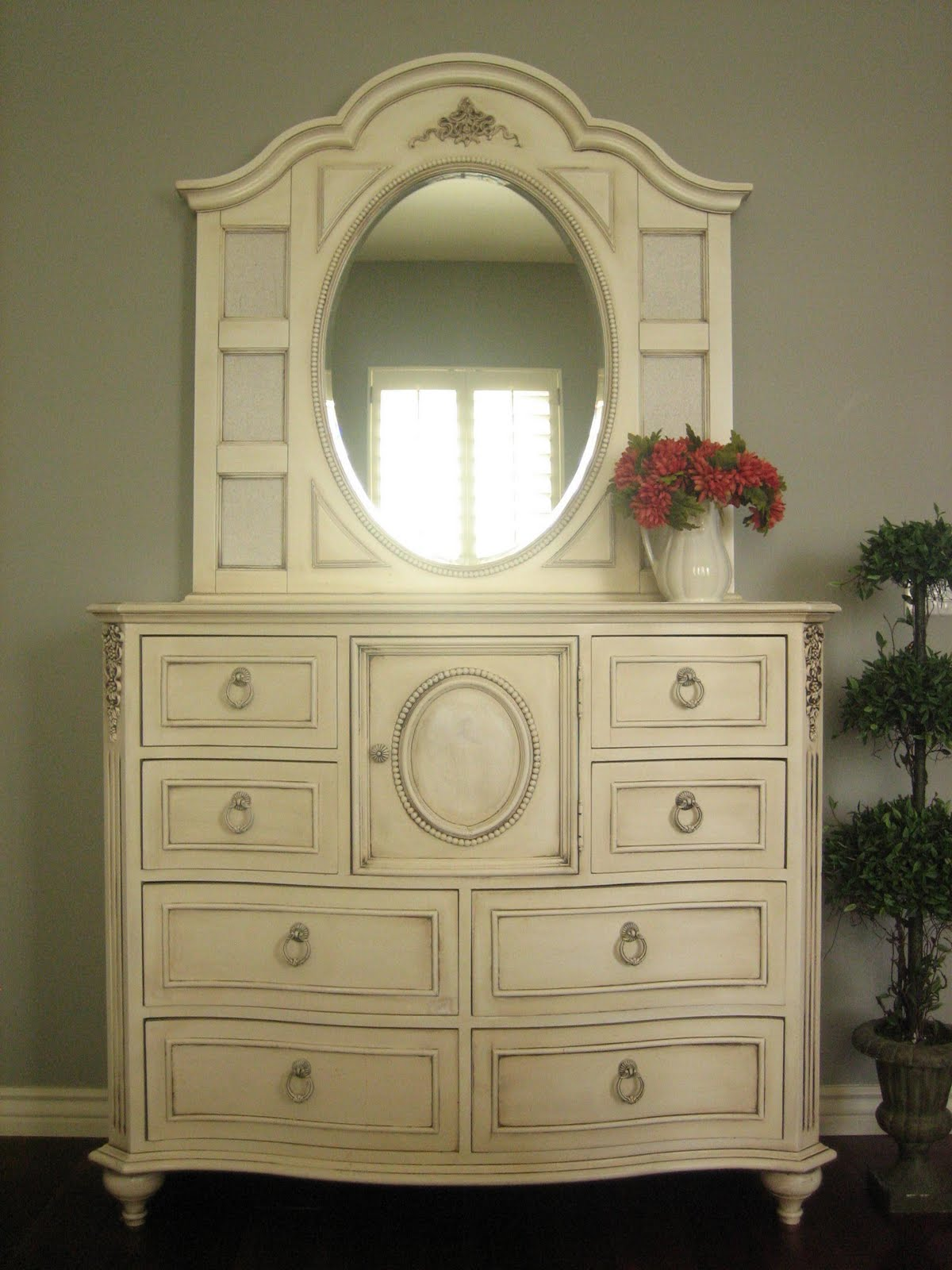 European paint finishes shabby french bedroom set for Bedroom furniture 85225