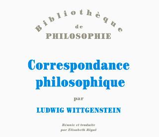 Editions Beauchesne Ludwig Wittgenstein correspondance