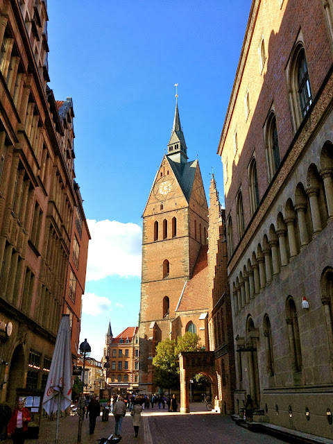Picture of the Marktkirche in Hannover, Niedersachsen, Germany.