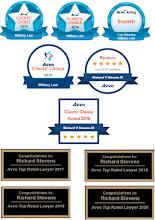 Avvo Awards 2013-2020