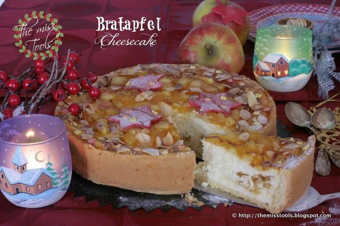 Bratapfel Cheesecake