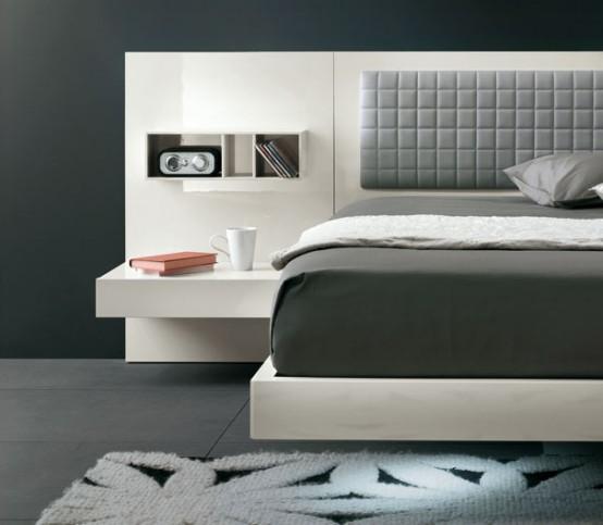 nuevas camas de estilo minimalista modernas y futuristas