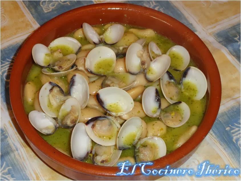 Recetas de cocina fabes con almejas en salsa verde - Almejas con salsa verde ...