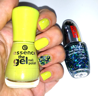 Notd: Don't be shy! Essence & Mosaic Green Pupa Milano