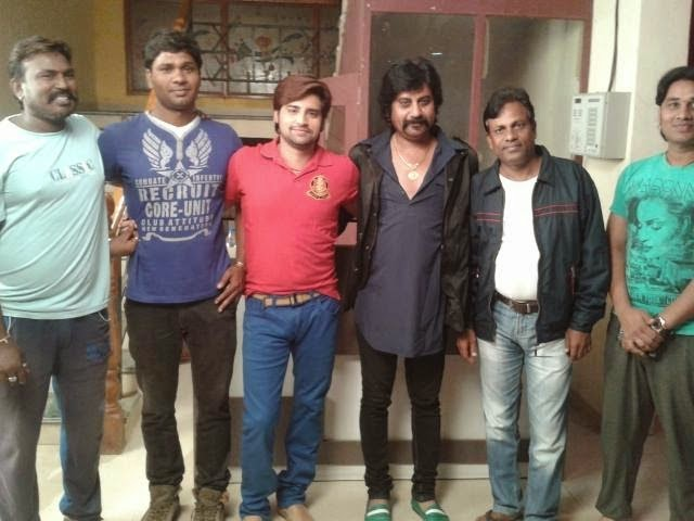Rakesh Mishra & Team of New Upcoming Movie 'Pyar Ki Pukar' Muhurat : Photo