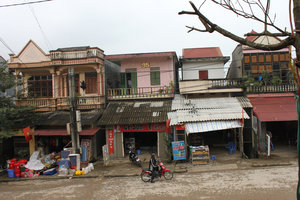 Xín Mần town - View from a cafeteria