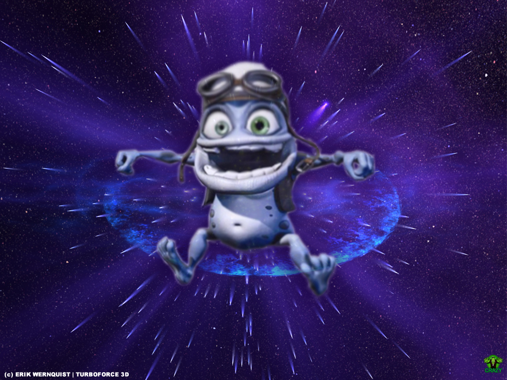 background collections crazy frog wallpaper