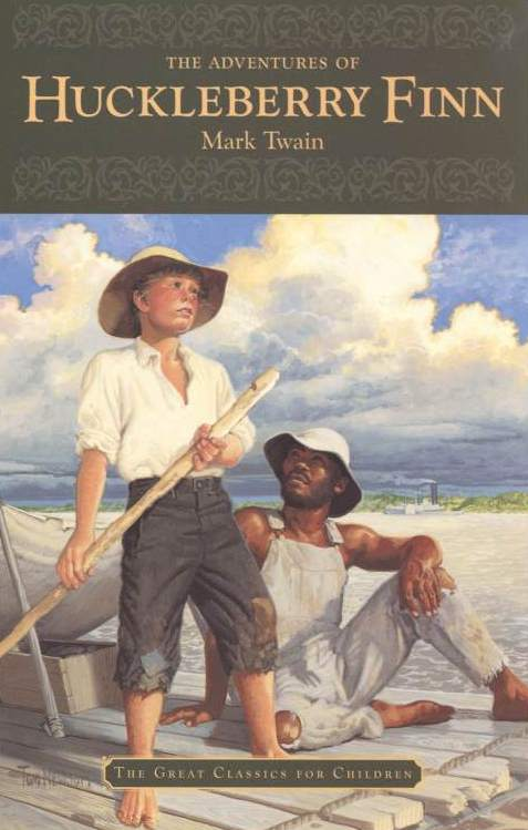 a comparison of the adventures of huckleberry finn and the book on the road The adventures of huckleberry finn mark twain theme: society's laws vs higher moral values grades: compare that number to the number of free people in each state, and display a book of slavery.