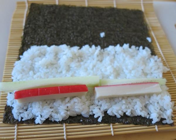 miten sushia tehdään