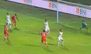 Persija Jakarta Menang 2-0 atas 10 Pemain PBR