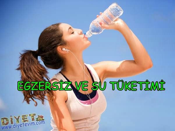 egzersiz ve sıvı tüketimi