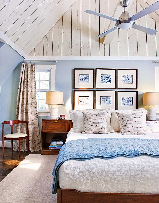 Cottage themed bedroom