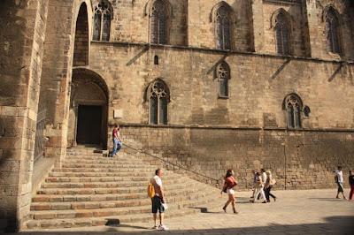 Santa Agata chapel in La Plaça del Rei