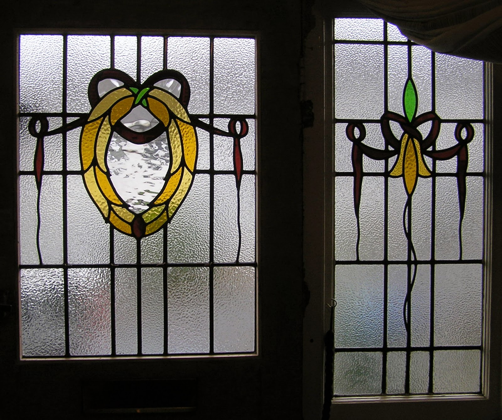 1930s stained glass