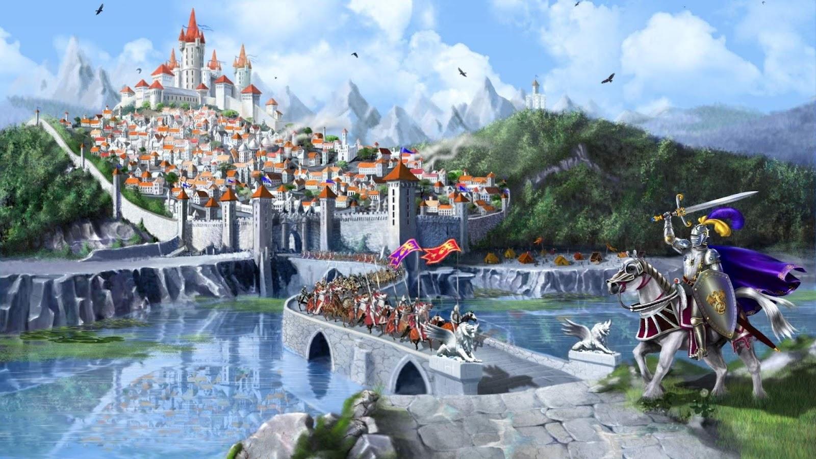 HD Fantasy Castles Wallpapers