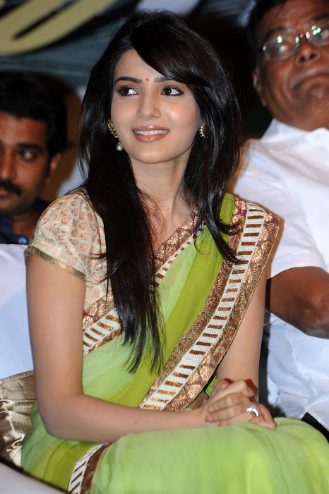 samantha at dookudu successmeet, samantha new actress pics