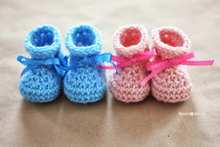 Free Crochet Pattern For Baby Elf Slippers : BABY ELF BOOTIES PATTERN Free Baby Patterns
