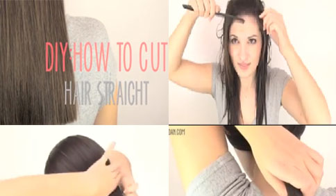 How To Cut Your Own Hair Straight At Home Entertainment News