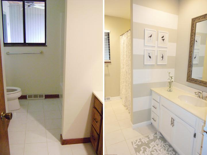 Decorando por ai Reformas em banheiros  Antes e depois -> Reforma Banheiro Pequeno Antes E Depois
