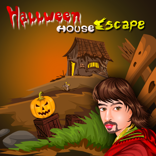 Play EscapeGames3 Halloween Ho…