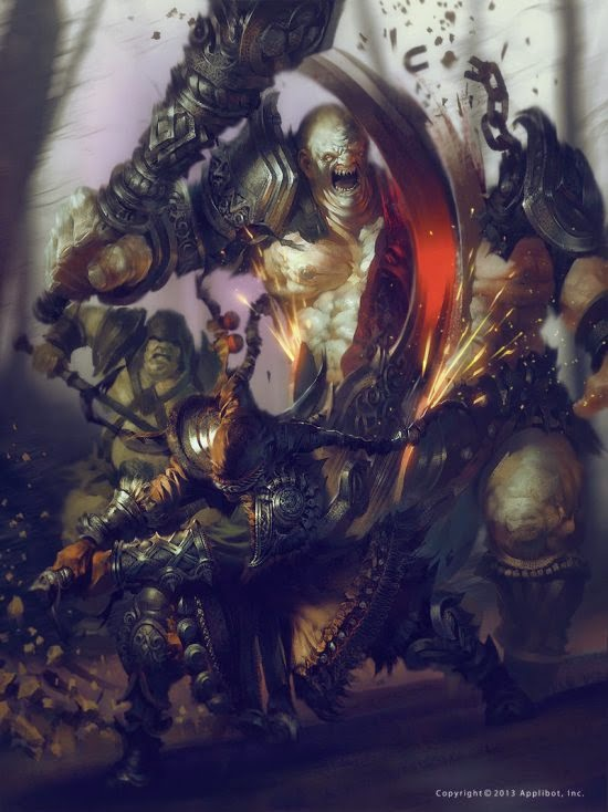 Marat Ars ilustrações fantasia medieval games sombrio demônios anjos