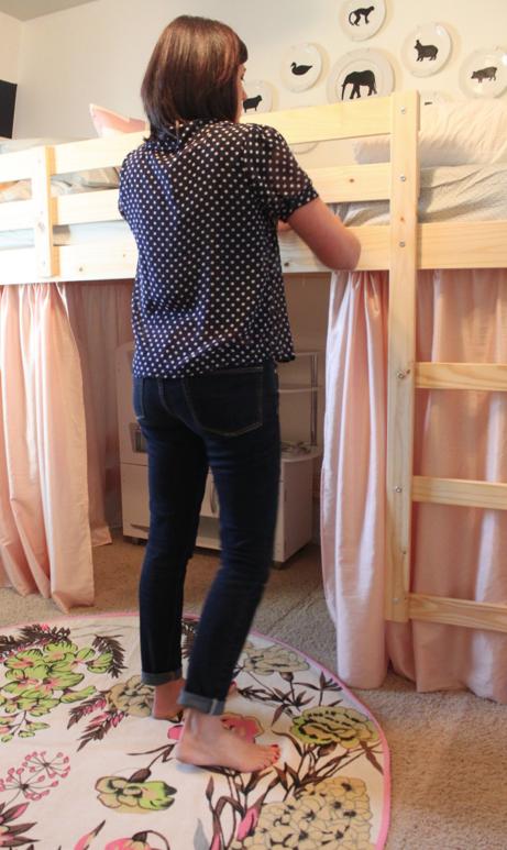 Fabulous IKEA Hack Loft Bed 461 x 773 · 543 kB · png