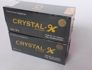 Crystal X Menghilangkan Penyakit Kista vagina