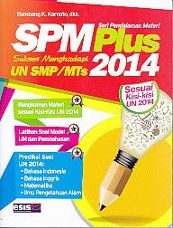 toko buku rahma: buku SPM PLUS UN SMP/MTS 2014, pengarang bambang k. karnoto, penerbit esis