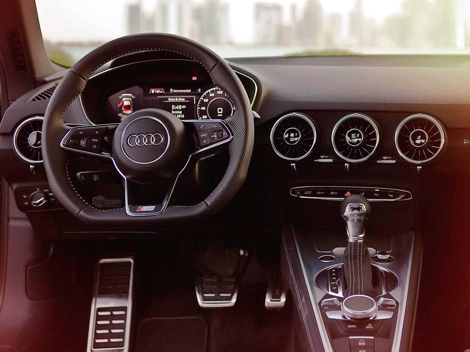 Novo Audi TT 2015 S-Line - interior