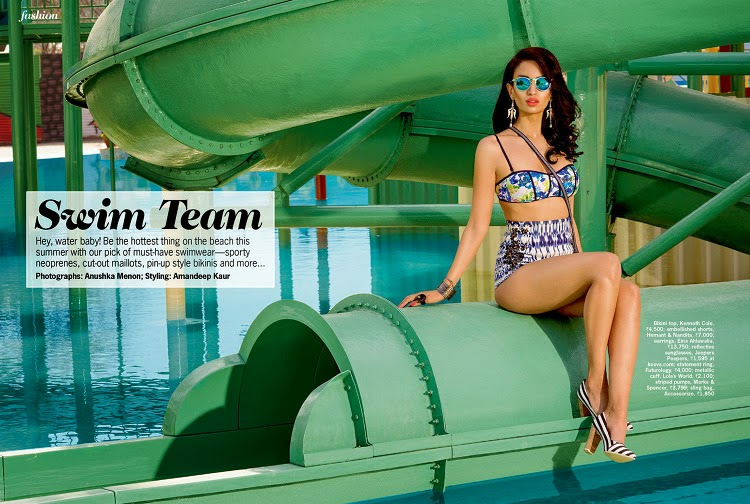 Model @ Elena Fernandes - Cosmopolitan India, May 2015