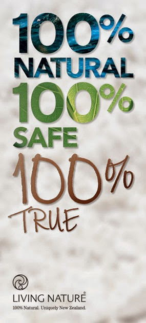 100% NATURAL , 100% SAFE , 100% TRUE