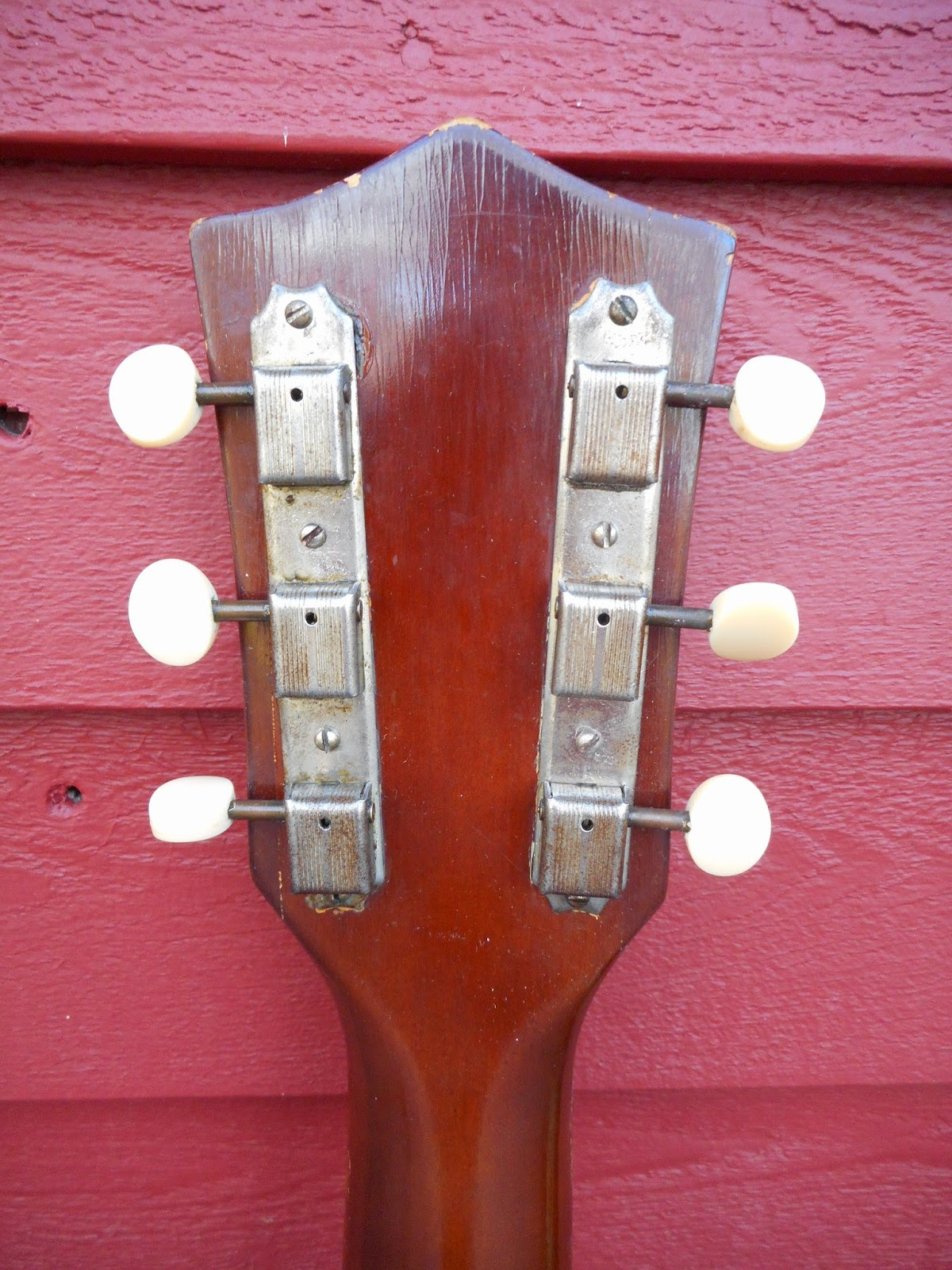 Your grandpas guitar 1950s kay k161 thin twin electric guitar another wonderful guitar mystery brought to you by the kay guitar manufacturing company cheapraybanclubmaster Gallery