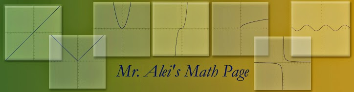 Mr. Alei's 2013-14 Math Blog