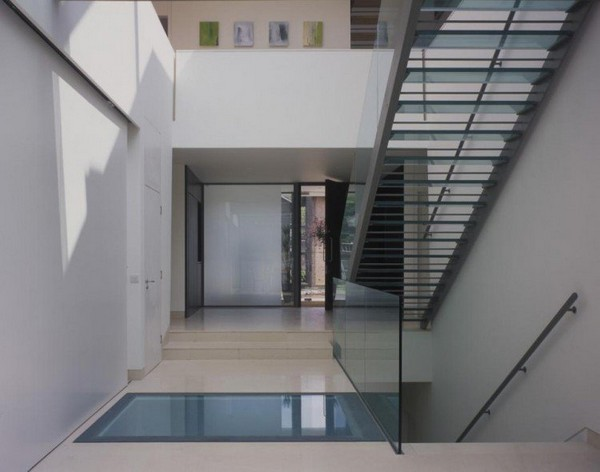Dise o de interiores arquitectura residencia con for Piscinas diseno estructural