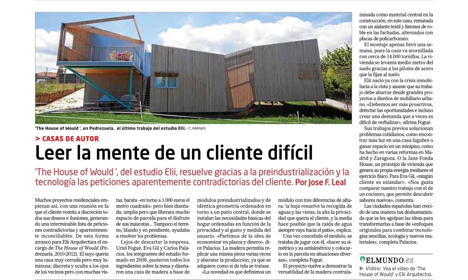 el dise o interior 2 articulos sobre arquitectura