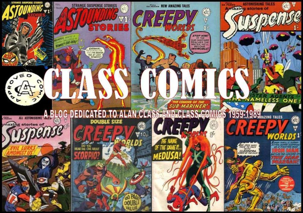 ALAN CLASS COMICS