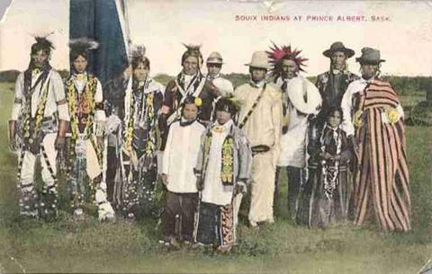 Sioux Indians @ 1900