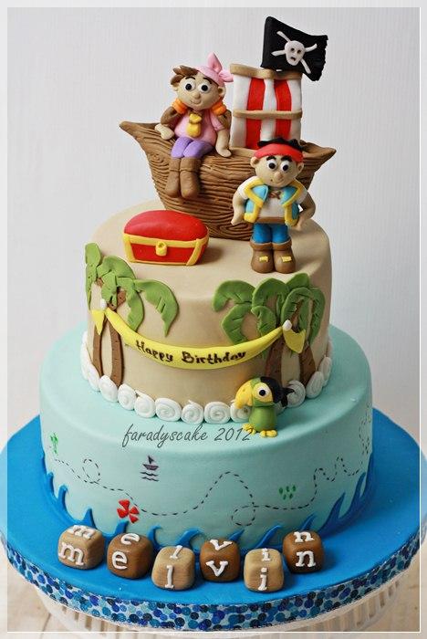 Ship Fondant Cake