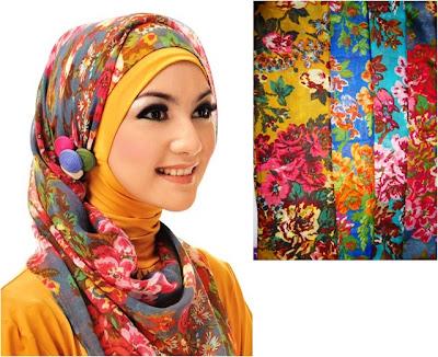 motif jilbab yang selalu jadi trend Model Jilbab yang Selalu Jadi Trend