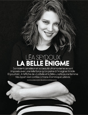 Lea Seydoux HQ Pictures Elle France Magazine Photoshoot February 2014