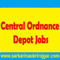 Central Ordnance Depot Agra Recruitment 2015