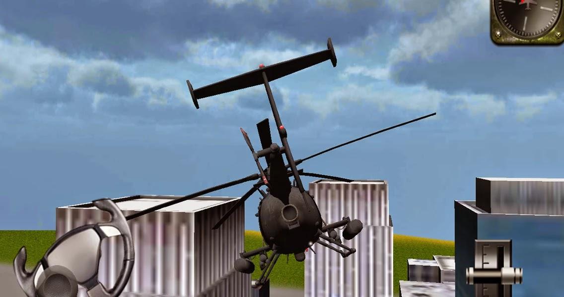 Android Helikopter 3D Uçuş Simülatörü Apk resimi 2
