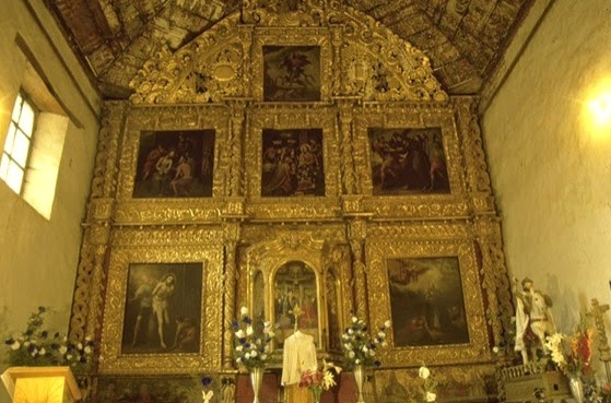 The Chapel of Santiago Apostol in Tupataro (Property of SECTUR MICHOACAN)