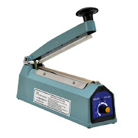 "8"" Hand Impulse Seal Machine with Heat PACKAGING"