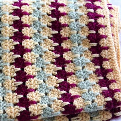 Larksfoot Blanket - Free Pattern