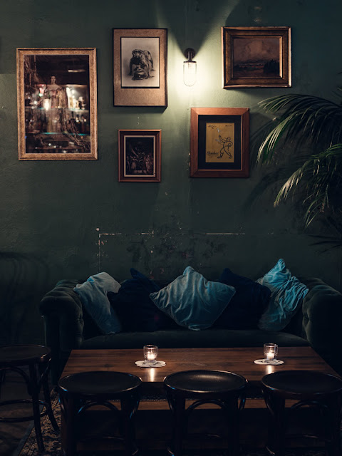 Club-Atmosphäre beim Frisör – Einrichten und Wohnen zwischen Vintage und Mid-Century Design Gemütlichkeit