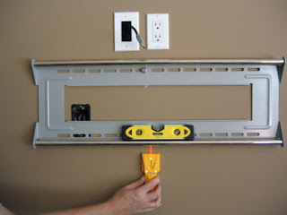 flat screen tv mount install